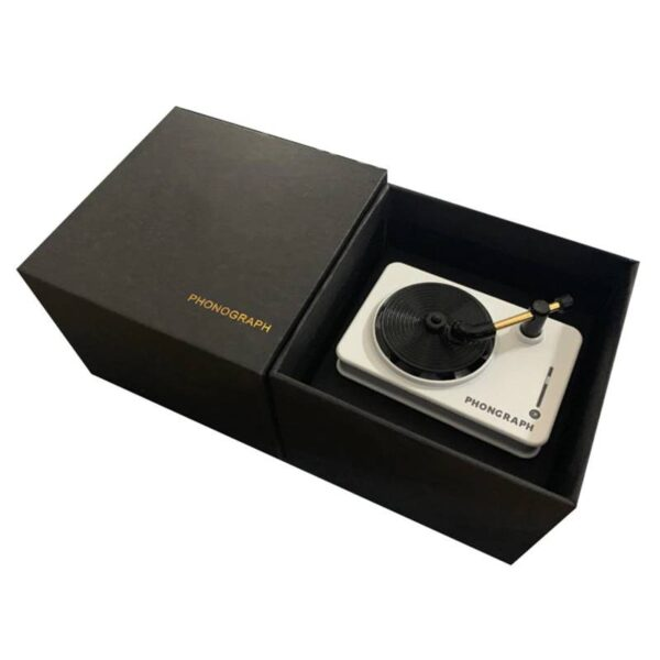 Car Freshener Record Player Car Fragrance Containers Gadgets & Gifts