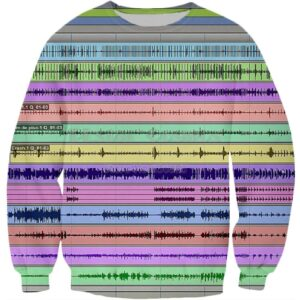DAW 3D Print Sweater Exclusive DJ Fashion Sweaters