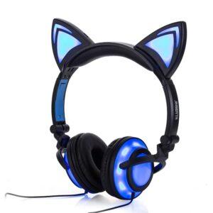 Cat Ear Headphones LED Gadgets & Gifts Headphones