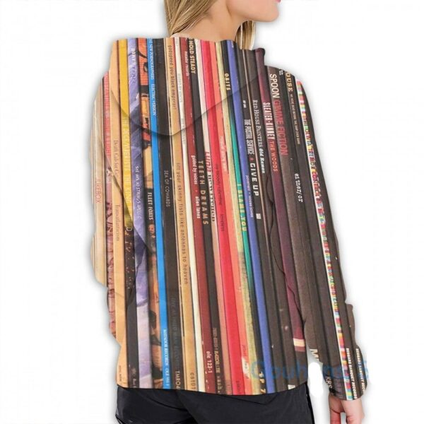 Mens Hoodies Sweatshirt for women funny Indie Rock Vinyl Records print Casual hoodie Streatwear Exclusive DJ Fashion Hoodies