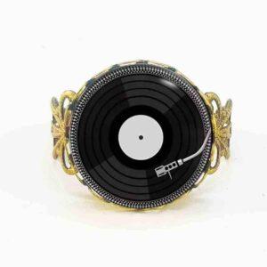 Vintage Vinyl LP Ring Jewellery & Watches Rings