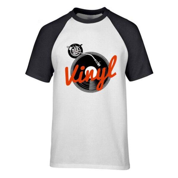 Retro Vinyl Record Player T-Shirt Exclusive DJ Fashion T-Shirts