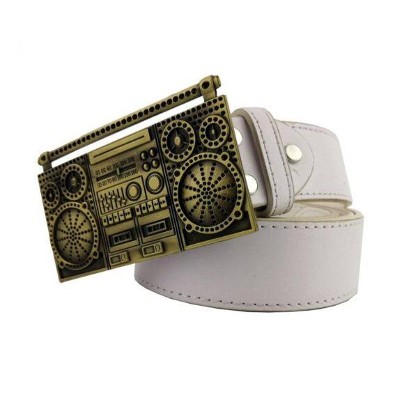 Cassette Player Gettoblaster Belt Buckle Belts & Belt Buckle Jewellery & Watches