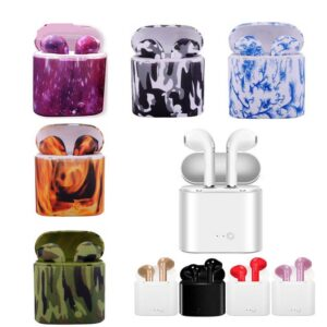Wireless Mini Earbuds Bluetooth with Printed Charging Box Gadgets & Gifts Headphones
