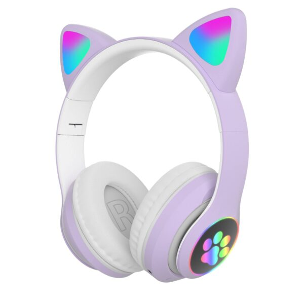 Cat Ear Bluetooth Headphone with Microphone Gadgets & Gifts Headphones