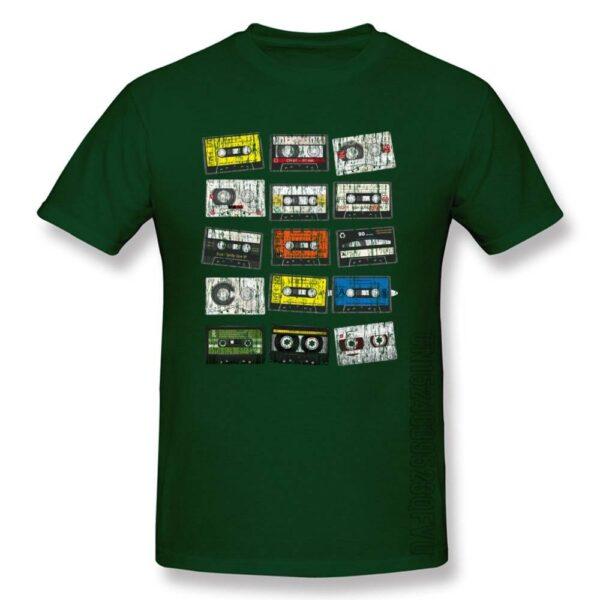 Old School Tape Cassettes T-Shirt Exclusive DJ Fashion T-Shirts