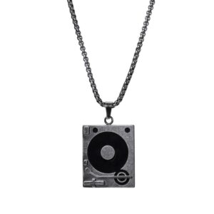 Turntable Necklace Stainless Steel Jewellery & Watches Necklace