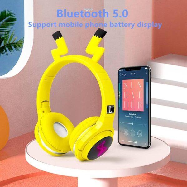 Pika Bluetooth 5.0 Headset Gadgets & Gifts Headphones