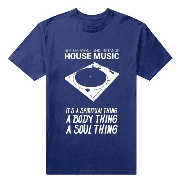House Music T-Shirt Exclusive DJ Fashion T-Shirts