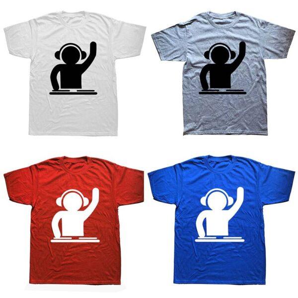 DJ Turntable T-Shirt Exclusive DJ Fashion T-Shirts