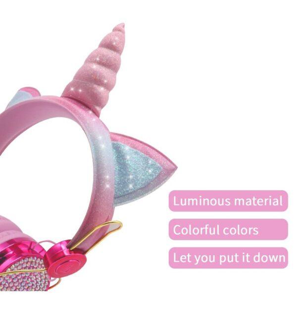 Wired Unicorn Headphone Gadgets & Gifts Headphones