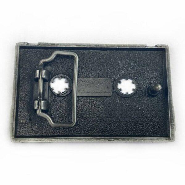 Vintage Cassette Belt Buckle Belts & Belt Buckle Jewellery & Watches