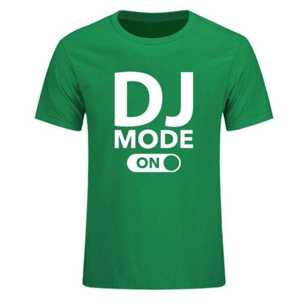 DJ Mode On T-Shirt Exclusive DJ Fashion T-Shirts