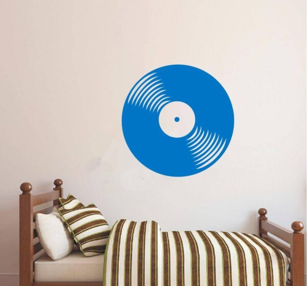 Wall Decal Vinyl Sticker Vinyl Record CD Retro Classical Music House Home Living Room Art Decoration Removable Poster WW-311 Home Decoration Wall Stickers