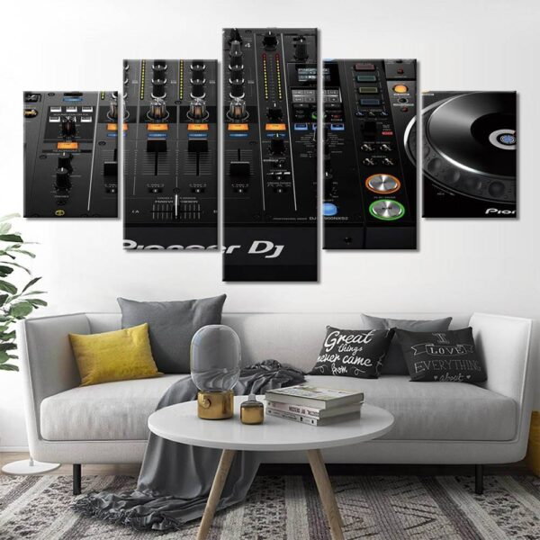 Modern Dj Pioneer Music Poster Print Canvas Painting Pictures Wall Art Home Decor Wall Art Home Decoration Wall Decor