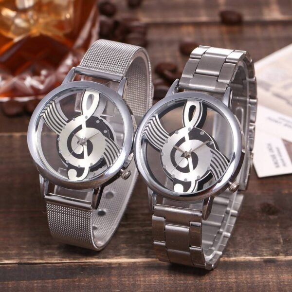 Music Note Notation Watch Jewellery & Watches Watches