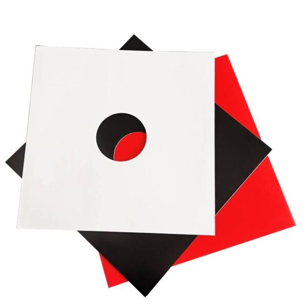 10PCS Hard Cardboard Outer Cover Sleeves Jackets for 12 inch LP 10 inch 7 inch Record Record Sleeves DJ Tools