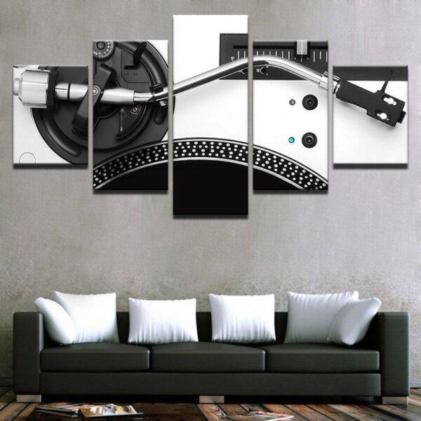 DJ Turntable Wall Decor Home Decoration Wall Decor