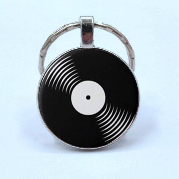 Retro Vinyl Record Keychain Jewellery & Watches Keychain