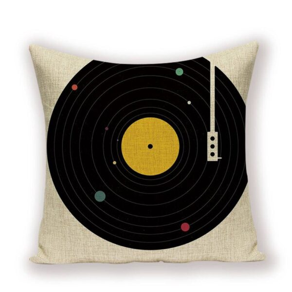 Record Rainbow Pillow Cases Home Decoration Pillow Cases