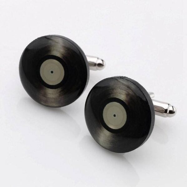 Vinyl Record Cuff Links Cuff Links Jewellery & Watches