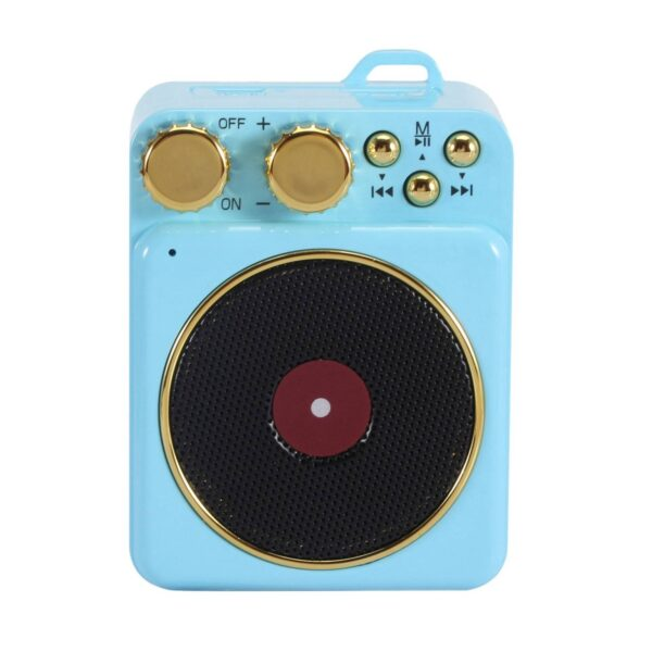 High Quality Portable Portable Audio Retro Turntable Mini Magnetic Bluetooth Speakers Bluetooth Speakers Gadgets & Gifts