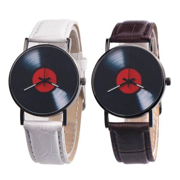 Vinyl Record Quartz Watch Jewellery & Watches Watches