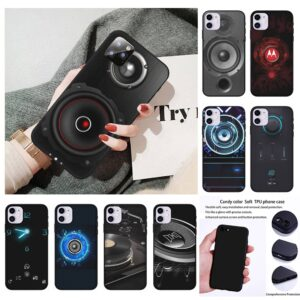 High Quality Dj Speaker Music Mobile Telephone Case For Iphone 7 8 Plus X Xs Max Xr 11 12 Mini Pro Max Gadgets & Gifts Phone Cases