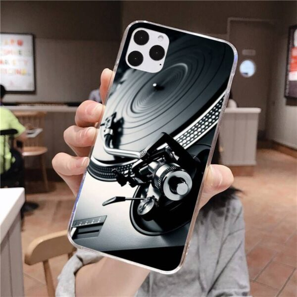 New Technics 1210s Turntables DJ Customer High Quality Phone Case for iPhone 11 pro XS MAX 8 7 6 6S Plus X 5S SE 2020 XR cover Gadgets & Gifts Phone Cases