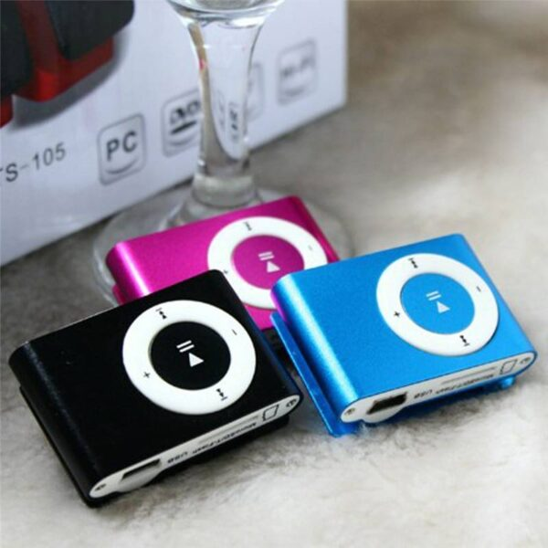Portable Mini Clip MP3 Player MP3 Players Gadgets & Gifts