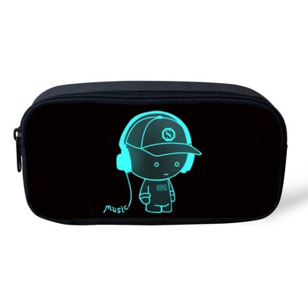 Luminous Backpack Headphone Boy Backpack Bags Handbag Shoulder bag Wallets