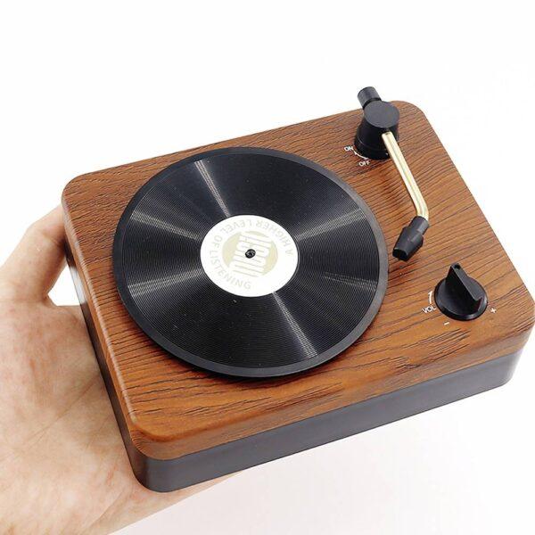 Bluetooth 5.0 Retro Phonograph Speaker Bluetooth Speakers Gadgets & Gifts