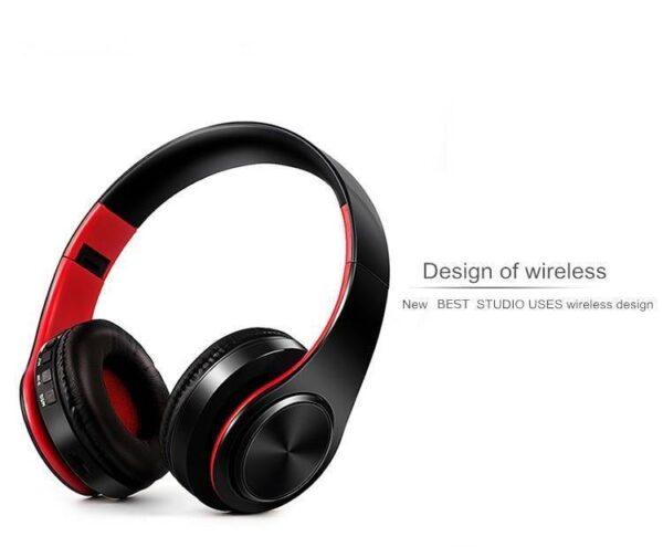 Foldable Wireless Bluetooth Headset Gadgets & Gifts Headphones