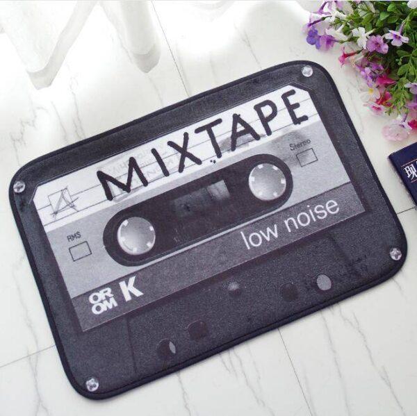 Vintage Tape Cassette Doormat Bath Mats Carpets Doormats Home Decoration