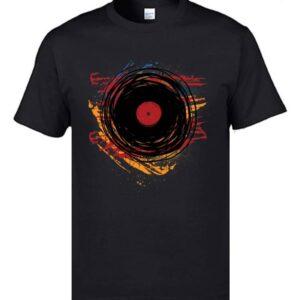 Vinyl Record Artwork T-Shirt Exclusive DJ Fashion T-Shirts