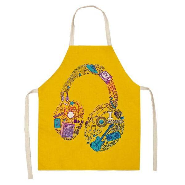 DJ Theme Kitchen Apron Kitchen Apron Kitchen Accessories