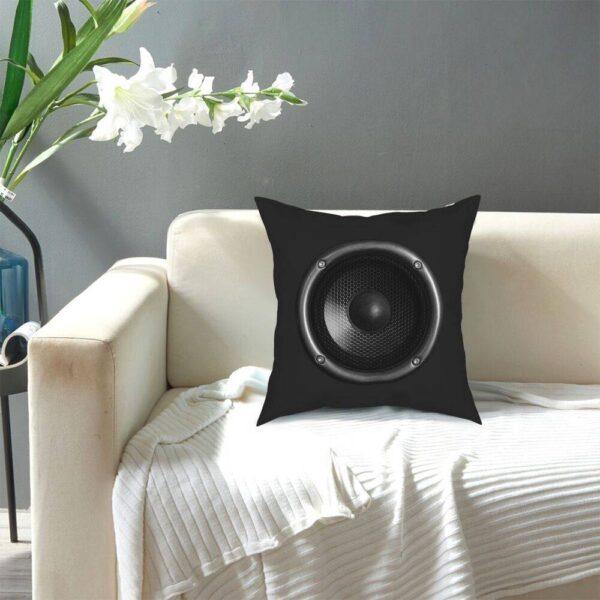 Music Speaker Square Pillow Case Home Decoration Pillow Cases