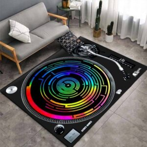 Turntable 3D Print Carpets Style A