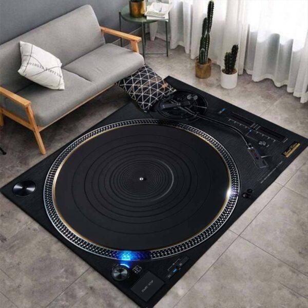 Turntable 3D Print Carpets Style B