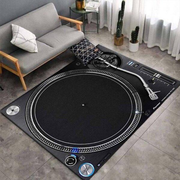 Turntable 3D Print Carpets Style D