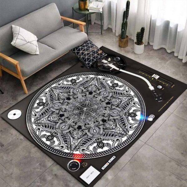 Turntable 3D Print Carpets Style E