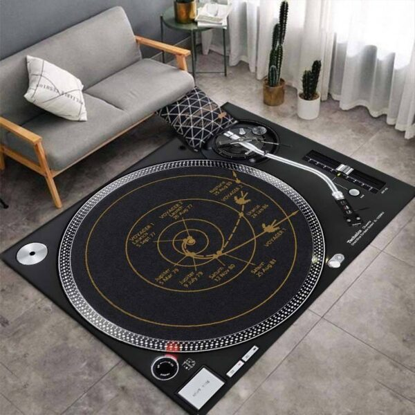 Turntable 3D Print Carpets Style F