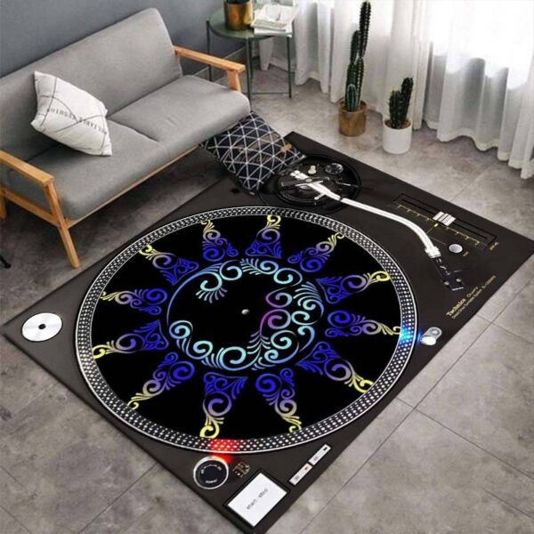 Turntable 3D Print Carpets Style G
