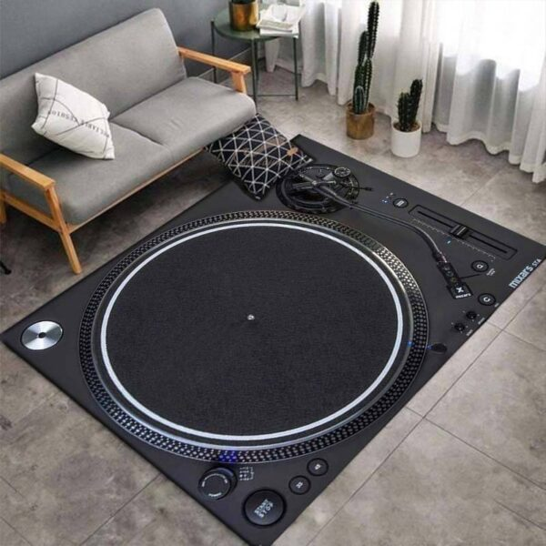 Turntable 3D Print Carpets Style H